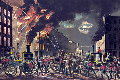 Muscle And Steam 1861 Print by Padre Art