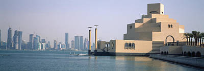 Qatar Photograph - Museum At The Waterfront, Museum Of by Panoramic Images