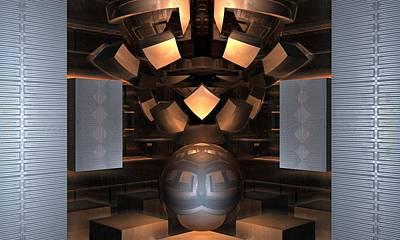 Museum Display 2 Print by Ricky Jarnagin