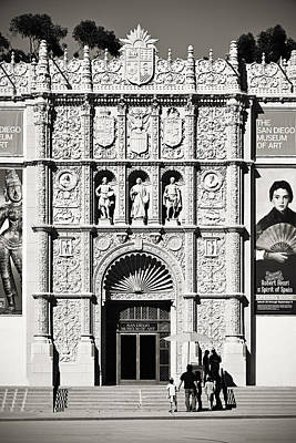 Reliefs Photograph - Museum Of Art San Diego by Christine Till