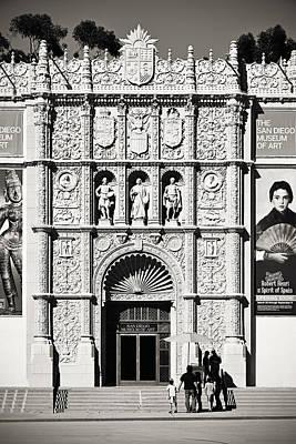 Prado Photograph - Museum Of Art San Diego by Christine Till