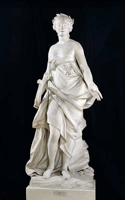 Bare Breasts Photograph - Music, 1757 Marble by Etienne-Maurice Falconet