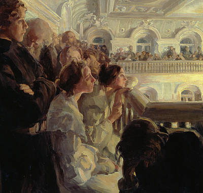 Performance Painting - Music by Antonina Leonardov Rzhevskaya