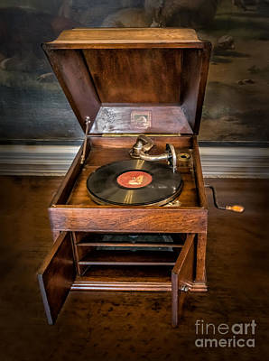 Cabinet Photograph - Music Box by Adrian Evans