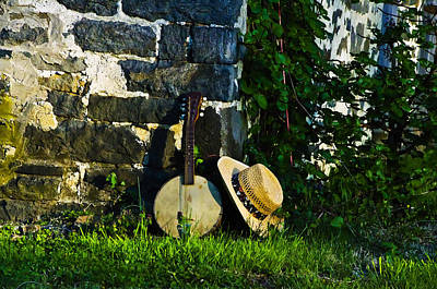 Mandolin Photograph - Music In The Morning by Bill Cannon