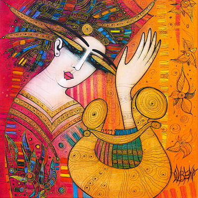 Painting - Music Is Flowers by Albena Vatcheva