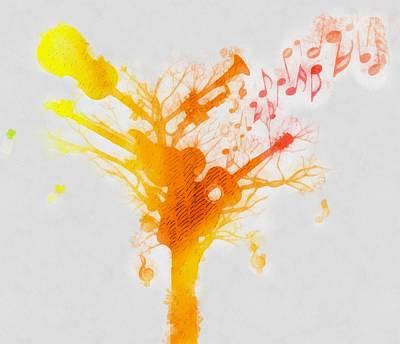 Music Tree Original by Dan Sproul