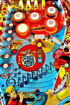 Musical Playfield Print by Benjamin Yeager