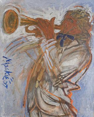 Musician Print by Deryl Daniel Mackie