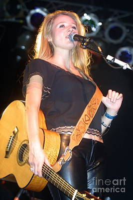 Photograph - Musician Jewel Kilcher by Concert Photos