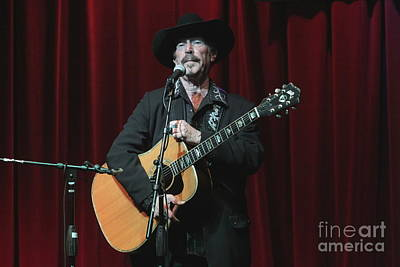 Photograph - Musician Kinky Friedman by Concert Photos