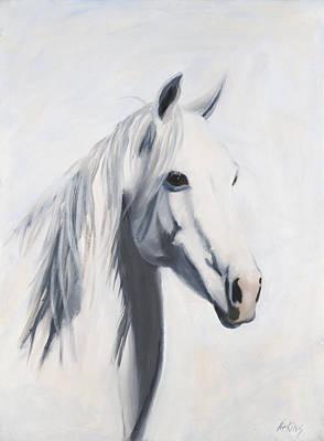 Mustang Mama Print by Jack Atkins