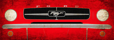 Mustang Photograph - Mustang by Mark Rogan