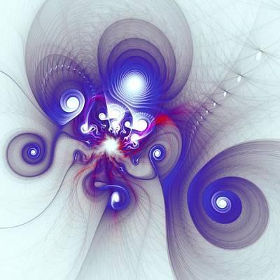Mutant Octopus Print by Anastasiya Malakhova