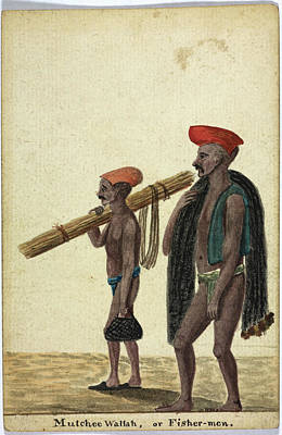 Mutchee Wallah Print by British Library
