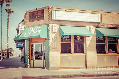 Mutt Lynch's Newport Beach Vintage Picture Print by Paul Velgos
