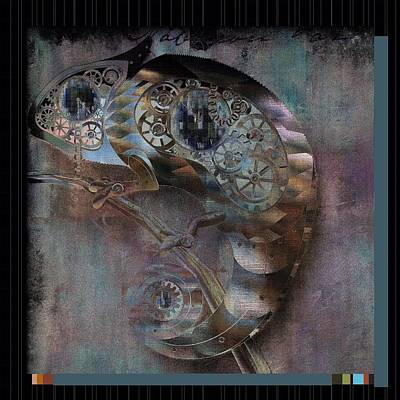 Variations Digital Art - Chameleon - Vspgr01b by Variance Collections