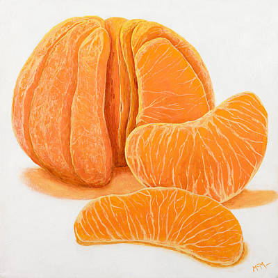 My Clementine Print by Garry McMichael