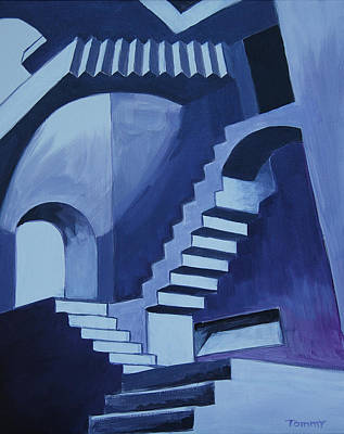 My Funky Stairs Original by Tommy Midyette