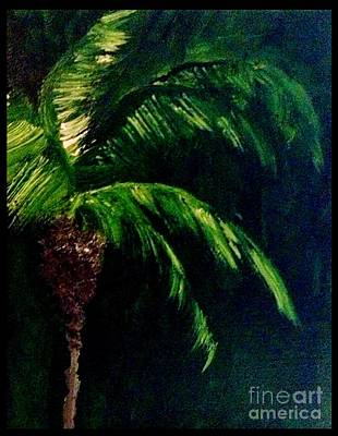 Store Painting - My Green Palm by James Daugherty