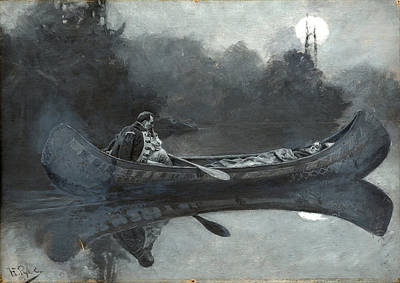 Howard Pyle Painting - My Hatred Of Him Seemed Suddenly To Have Taken To Itself Wings by Howard Pyle