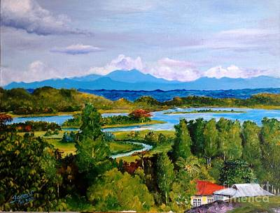 High Side Painting - My Homeland by Jason Sentuf