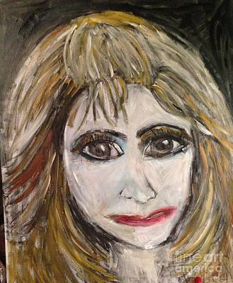 Lady Ga Ga Painting - My Lady Ga Ga by Sherry Harradence