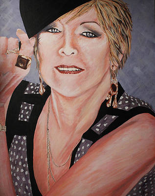 Femal Portrait Painting - My Mother My Life by Briony Sullivan