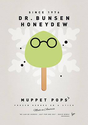 My Muppet Ice Pop - Dr Bunsen Honeydew Print by Chungkong Art