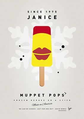 My Muppet Ice Pop - Janice Print by Chungkong Art