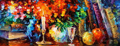 My Old Thoughts Original by Leonid Afremov
