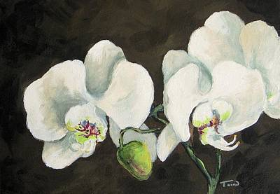 Painting - My Orchid by Torrie Smiley