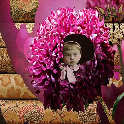 My Precious Chrysanthemum Original by Paige White