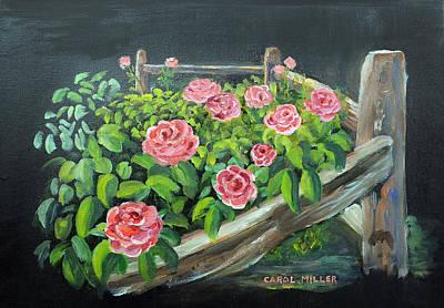 My Rose Garden Original by Carol L Miller