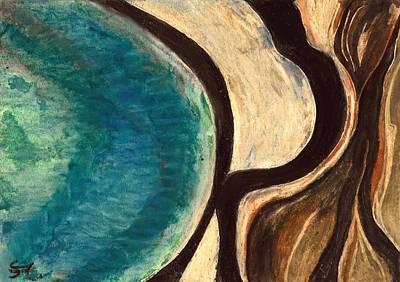 My Seascape I Print by Carla Sa Fernandes