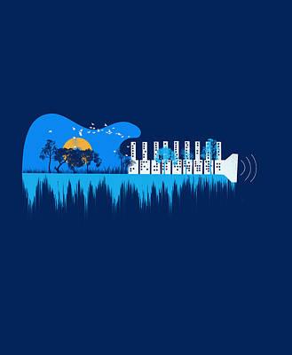 My Sound World Print by Neelanjana  Bandyopadhyay