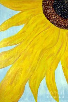 Sunflower Photograph - My Sunflower by Benanne Stiens