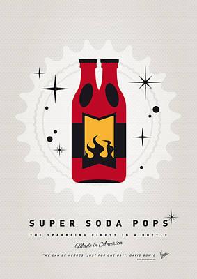 Hellboy Digital Art - My Super Soda Pops No-08 by Chungkong Art