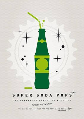 Books Digital Art - My Super Soda Pops No-20 by Chungkong Art