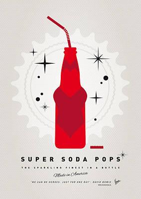 Books Digital Art - My Super Soda Pops No-23 by Chungkong Art