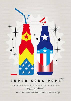 My Super Soda Pops No-24 Print by Chungkong Art