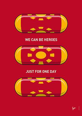My Superhero Pills - Iron Man Print by Chungkong Art