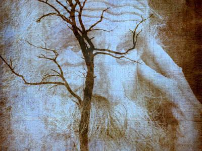Contemplative Mixed Media - My Thinking Tree by Irma BACKELANT GALLERIES