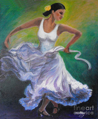 Clapping Painting - My Voice My Soul by Criselda Kelley