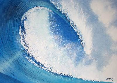 My Wave Print by Jeff Lucas