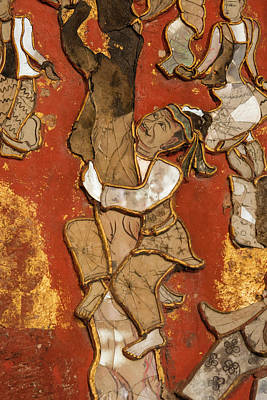 Mosaic Photograph - Myanmar Shan State Shwenyaung Shwe Yan by Inger Hogstrom