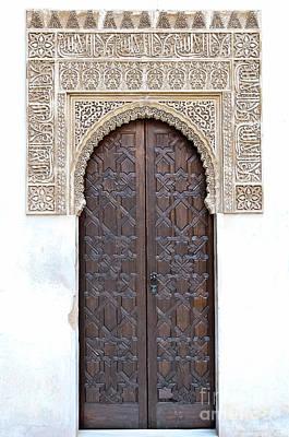 Islamic Art Photograph - Myrtle Doorway by Marion Galt
