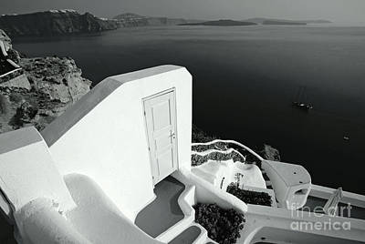 Vacances Photograph - Mysterious Door by Aiolos Greek Collections