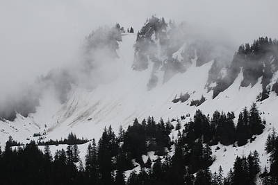 Mysterious Mountain Print by Michael Gooch