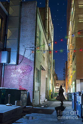 Colorado Christmas Photograph - Mystery Alley by Juli Scalzi